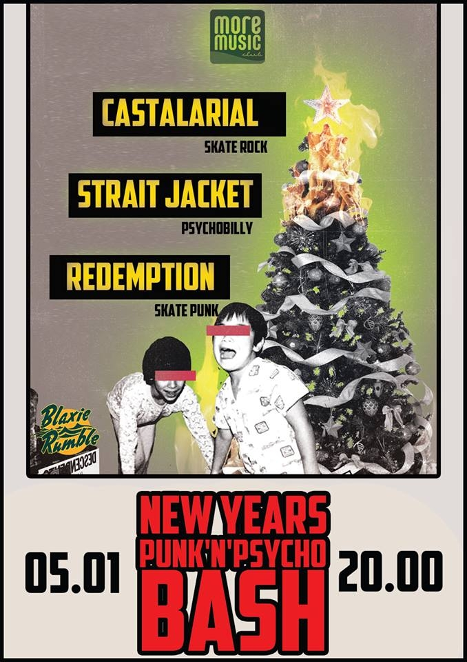 05.01 New Years Punk'n'Psycho Bash | Одесса