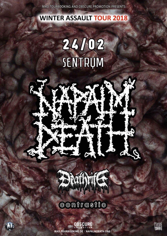 24.02 Napalm Death | Київ