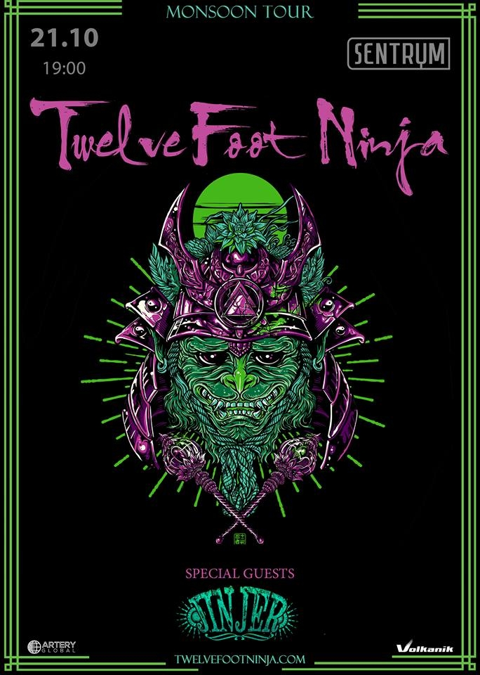 21.10 Twelve Foot Ninja / Jinjer | Киев