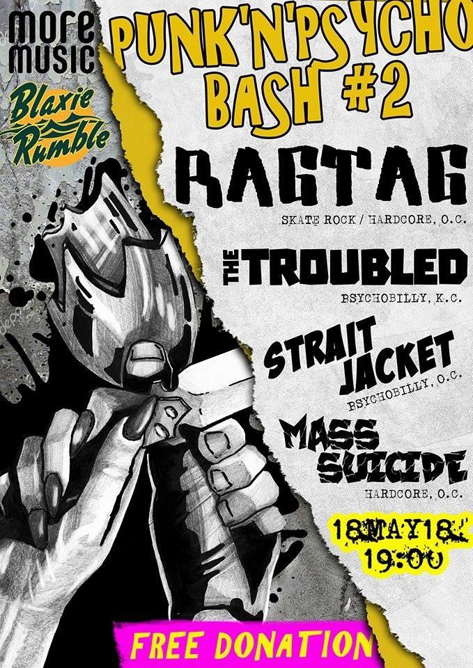 18.05 Punk'n'Psycho Bash vol.2 | Одеса